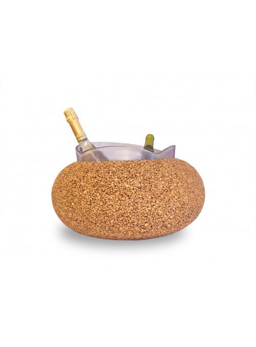 Four bottles glacette in cork - Spumantiera Ibiza