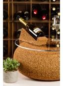 Medium bottle rack in cork - Wine display magnum