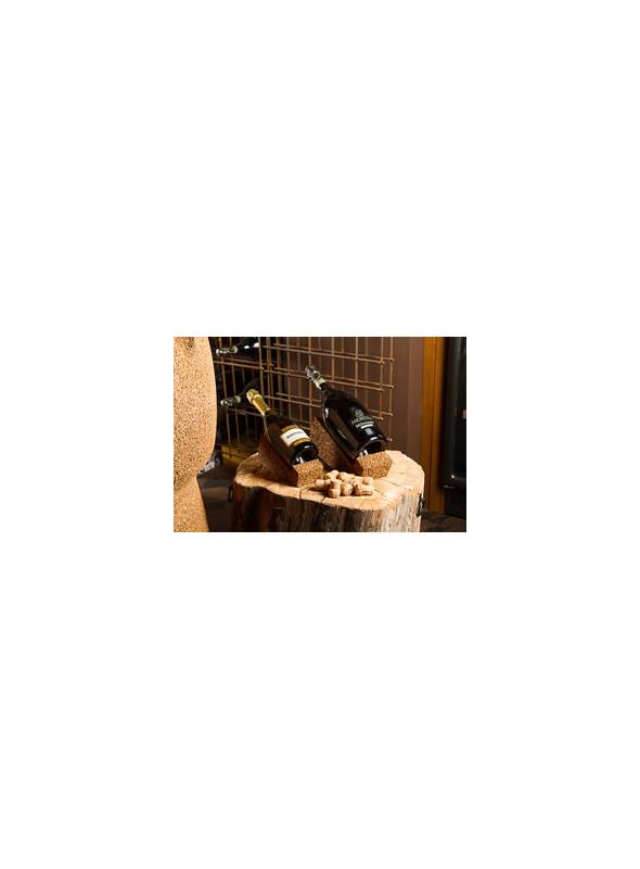 Big bottle rack in cork - Wine display jeroboam