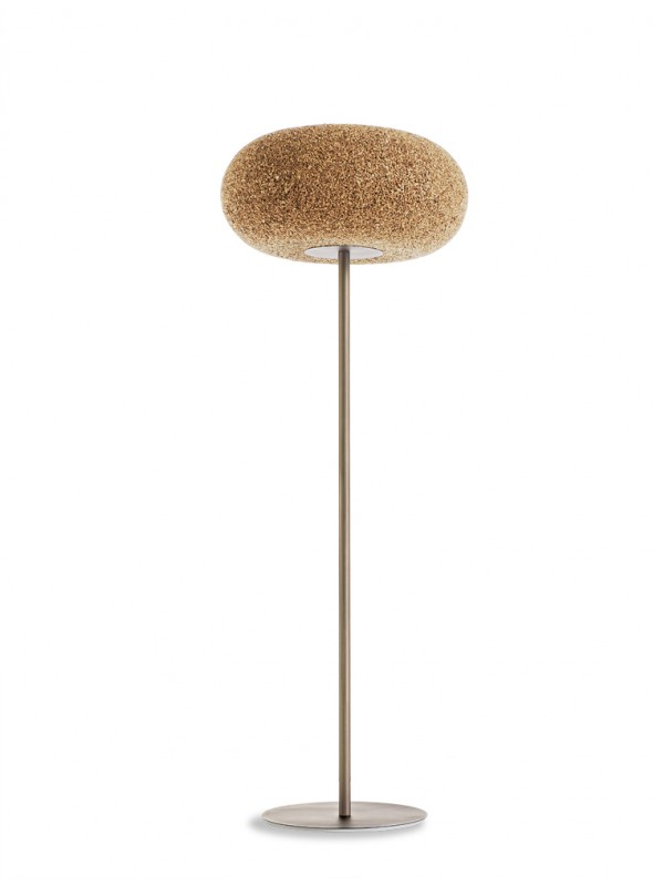 Ground lamp in cork - Home Lamp