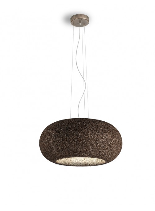 Lampada a sospensione in sughero - Disco Lamp