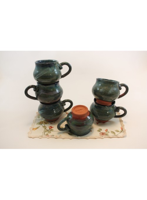 tea set with teapot and cups