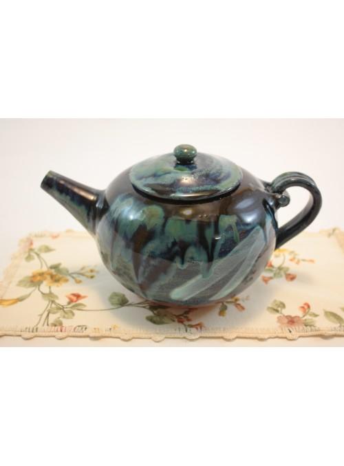 Set da tè teiera e tazze in ceramica