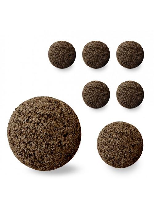Set otto sfere piccole in sughero - Spheres 9