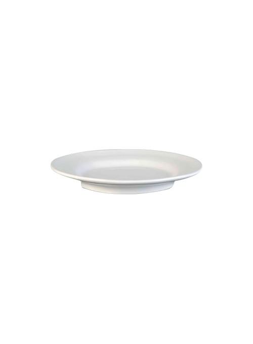 Set di due piatti piani in ceramica - Estia