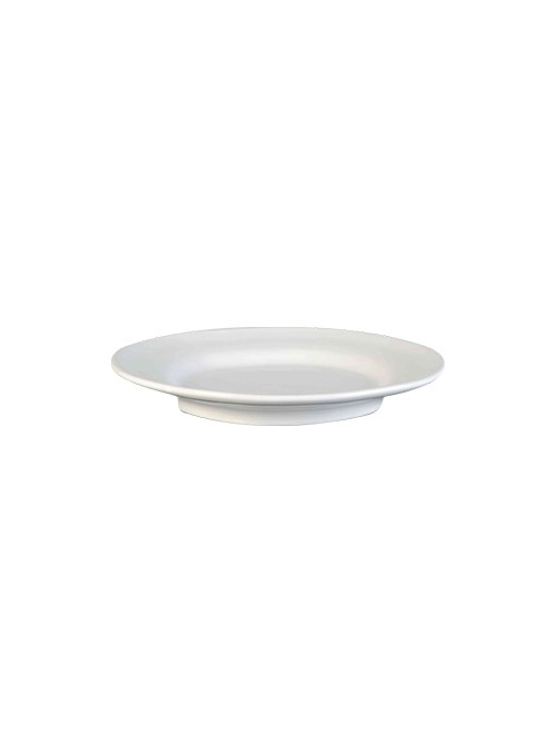 Set of two large plates in ceramic - Estia