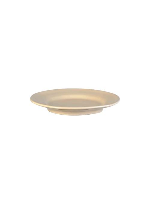 Set di due piatti piani grandi in ceramica - Estia