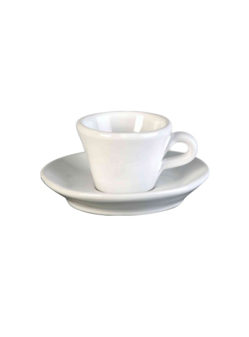 Set of two coffee cups in ceramic - Estia