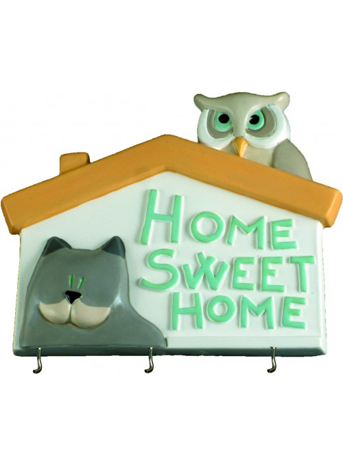Hand-painted ceramic changer - Home sweet home