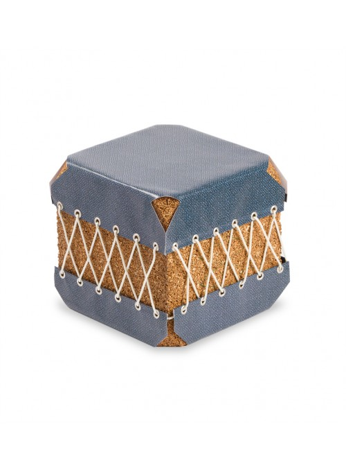 Squared pouf in cork and pvc - Dado Ermenegildo