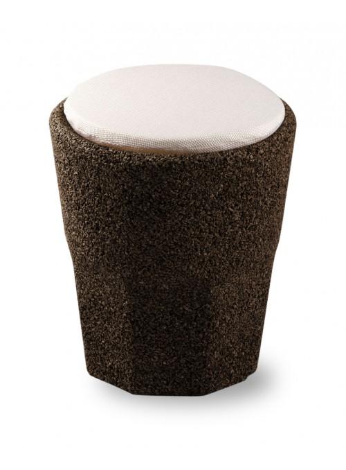 Sgabello a forma di bicchiere con cuscino - Spritz cuscino