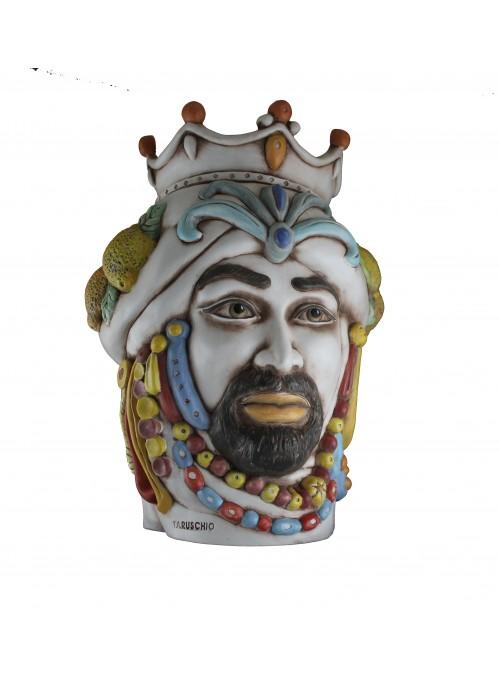 Testa di moro in ceramica anticata - I Mori