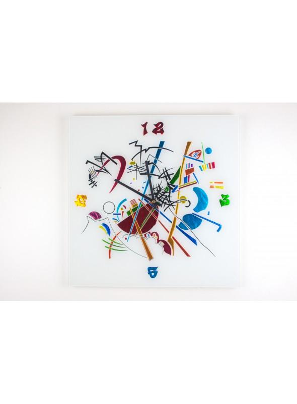 Orologio da parete in vetro - Kandinskyij time grande