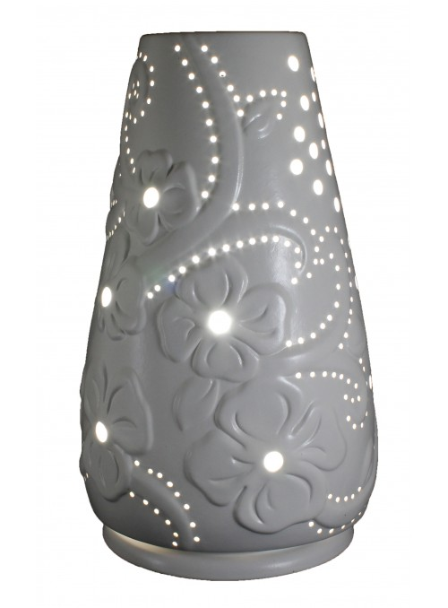 Cone-shaped ceramic lamp - Fiori