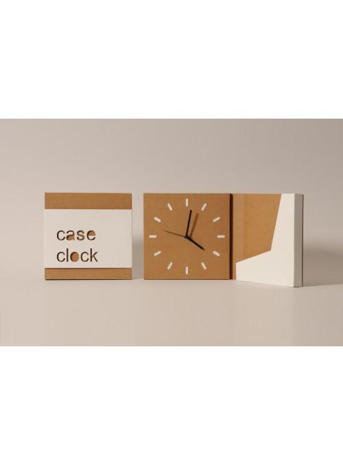 Orologio in cartone con svuotatasche - Caseclock