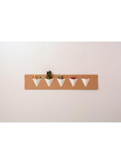 Svuotatasche da muro in cartone - Pigreco