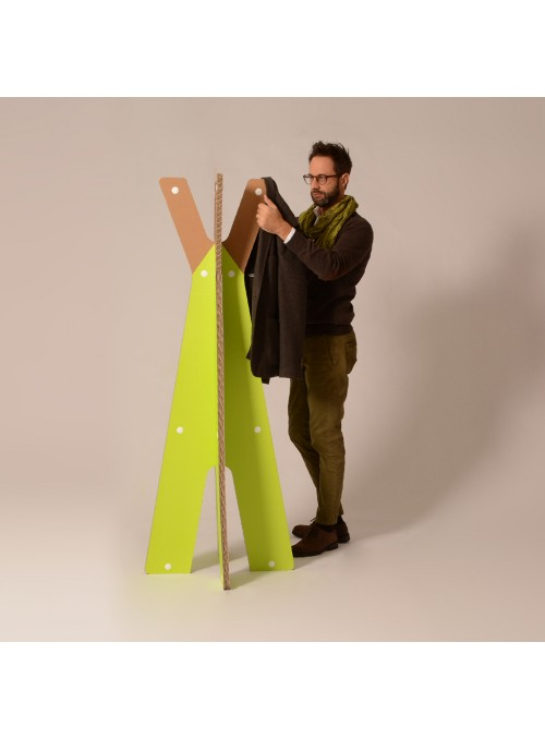 Cardboard coat rack - Edgard
