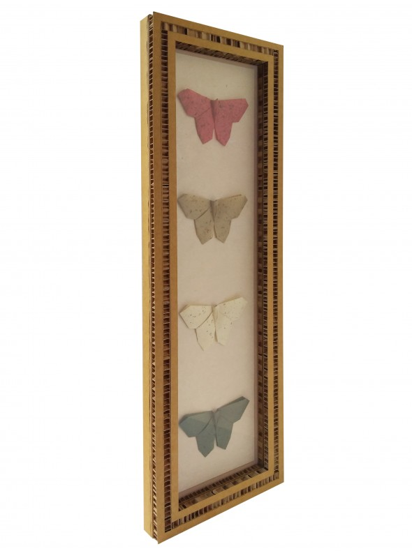 Four animal shaped origami set - Yon