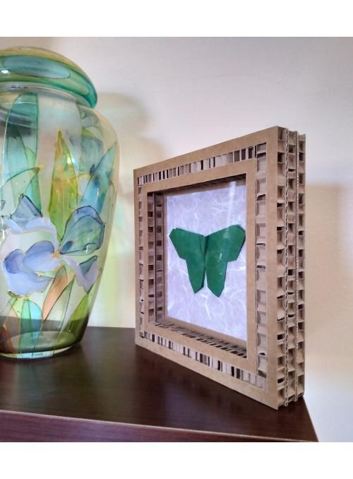 Quadro origami a forma di farfalla - Farfalla