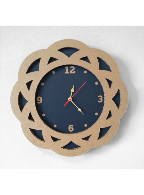 Origami clock with flower shape - Fiore