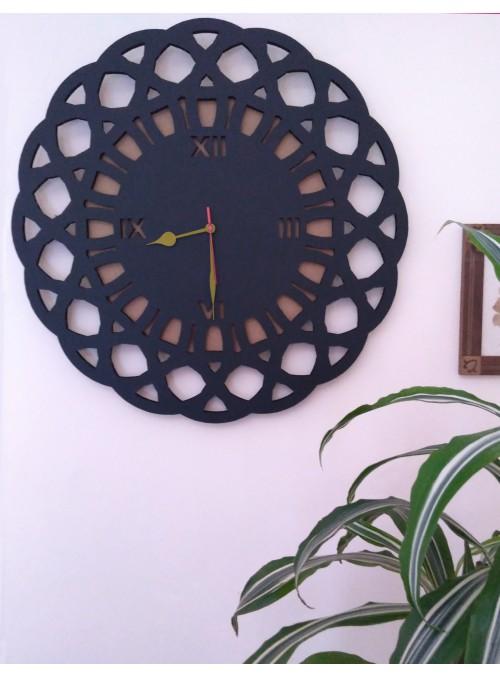 Orologio origami con forma astratta - Gotico