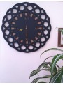 Origami clock with abstract shape - Gotico