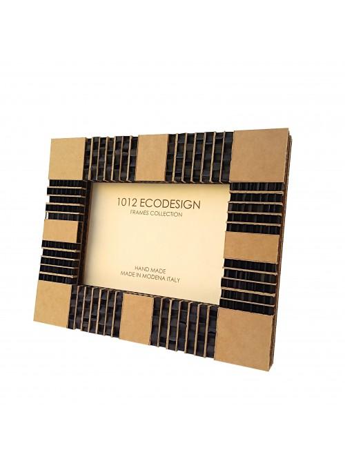 Rectangular cardboard photo frame - Sapphire