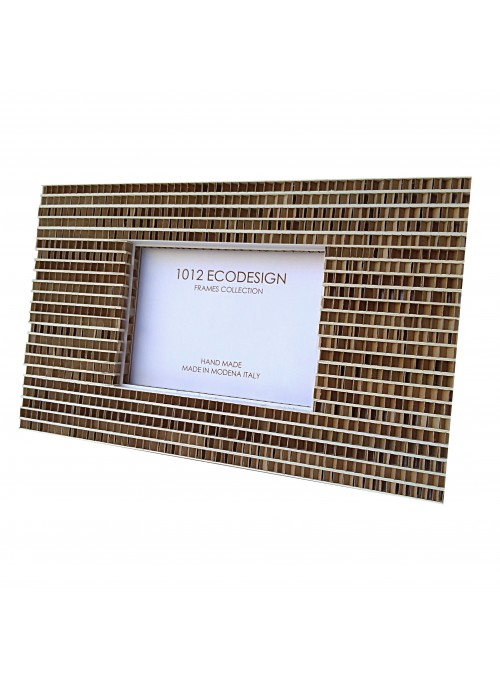 Rectangular cardboard photo frame - Agata
