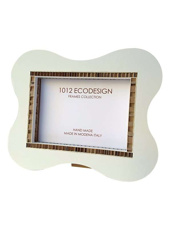 Cardboard photo frame with rounded angles - Hepburn