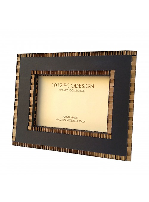 Rectangular cardboard photo frame - Amber