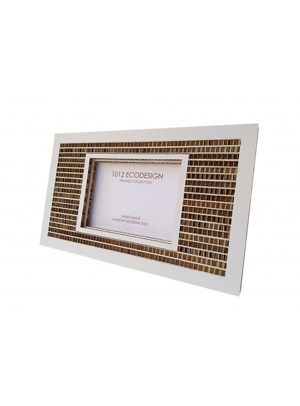 Big rectangular cardboard photo frame