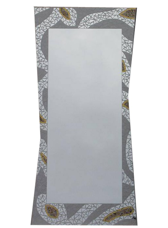 3957c14dbf Specchio da muro cornice mosaico chiara