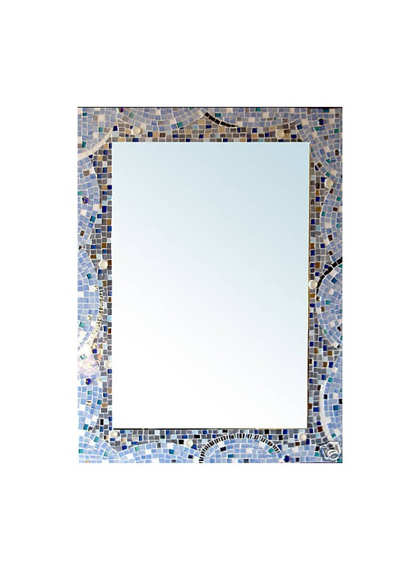 Mirror with mosaic frame - Milleluci