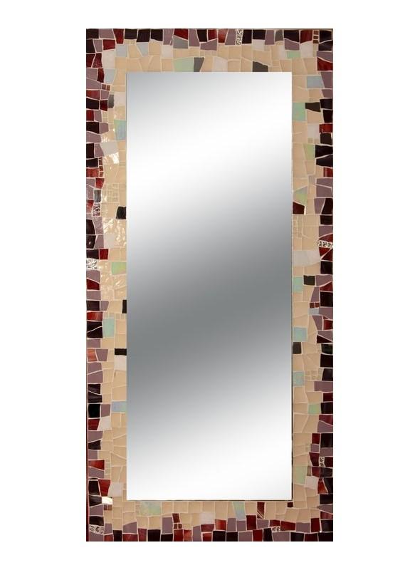Specchio Da Parete Grande Con Cornice.Specchio Da Muro Cornice Mosaico Sfumato