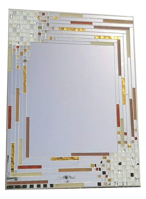 Mirror with mosaic frame - Vero Amore