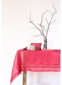 Tablecloth in pure linen gauze in two measures - Garza