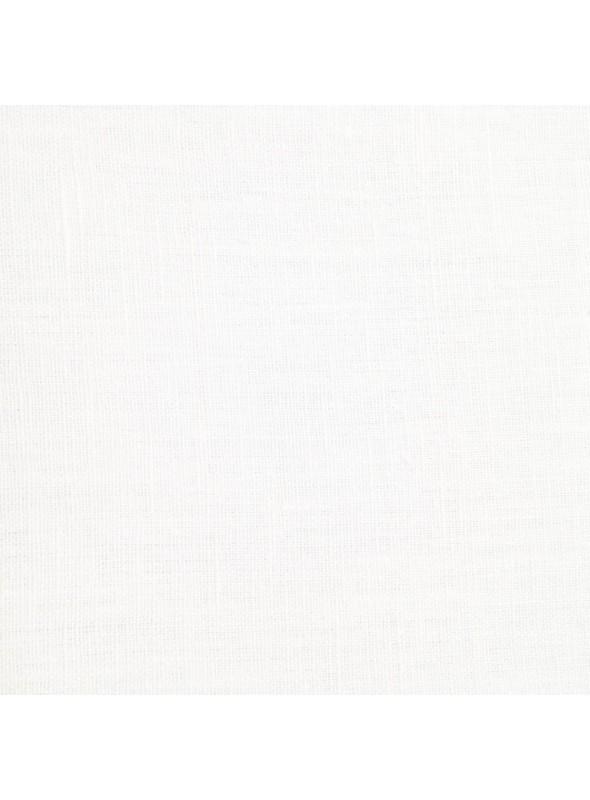 Tenda in velo di lino con decorazioni - Eucalipto