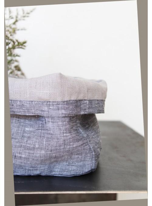 Set di contenitori da tavola in velo di lino