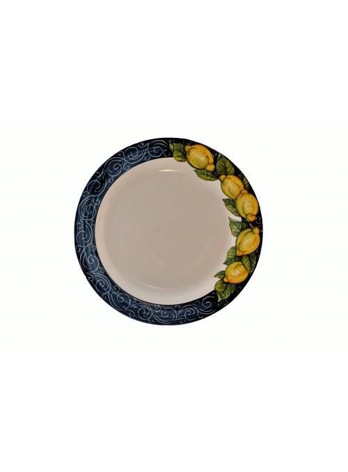 Sottopiatto in ceramica decorata