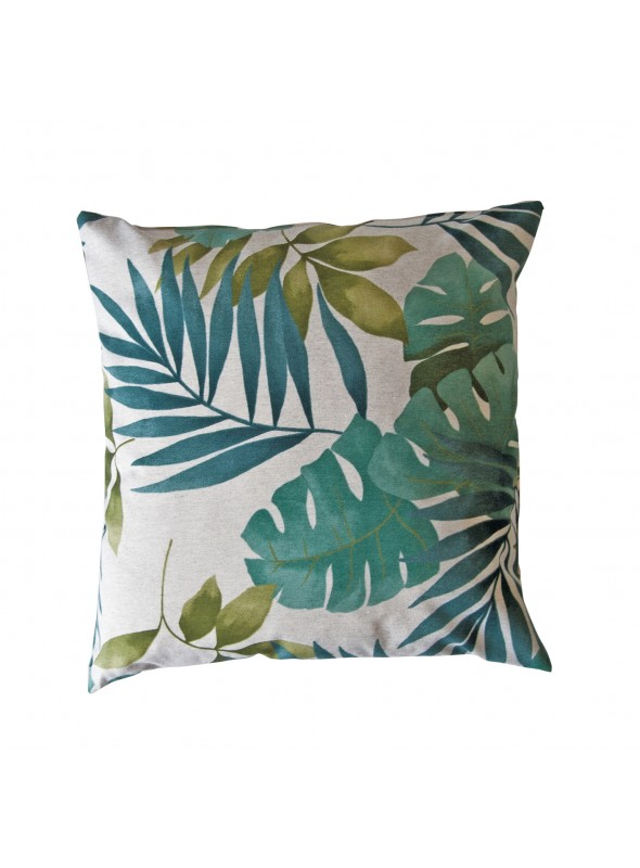 Squared cushion in eco freindly fabric