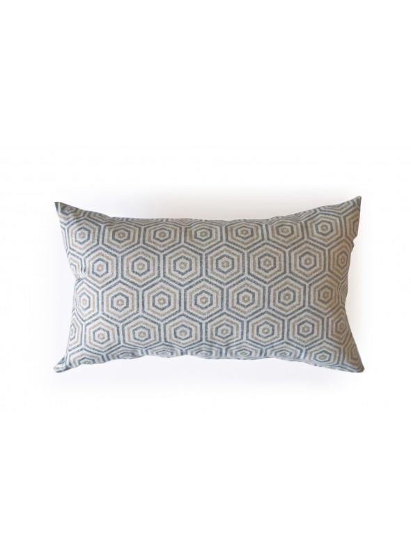 Rectangular cushion in eco freindly fabric