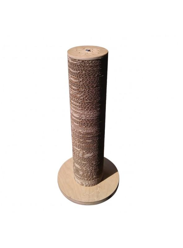 Tiragraffi in legno di betulla e cartone ondulare - Minou