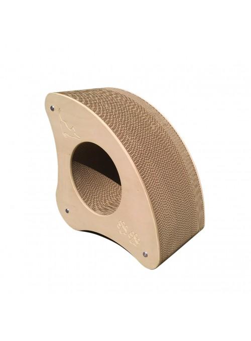 Tiragraffi in legno di betulla e cartone ondulare - Romeo