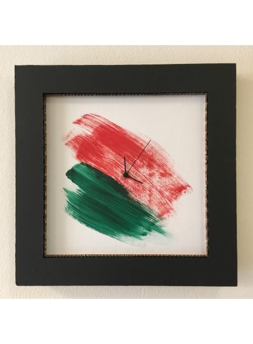 Honeycomb cardboard clock - Italy Tondo