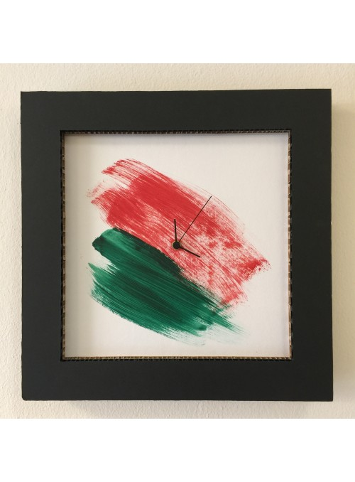 Honeycomb cardboard clock - Italy Quadro