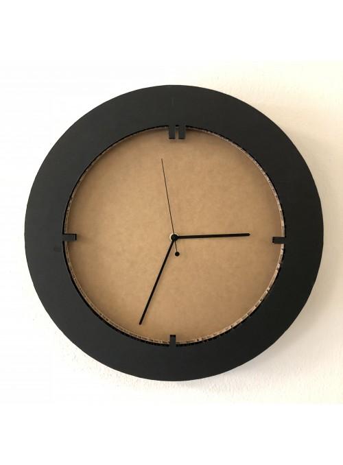 Honeycomb cardboard clock - Tempo Tondo