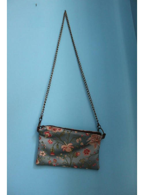 Evening bag with shoulder strap
