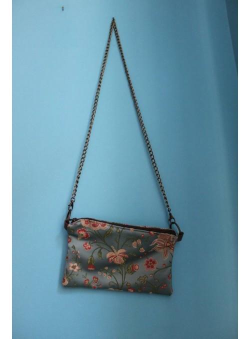 Evening bag with shoulder strap