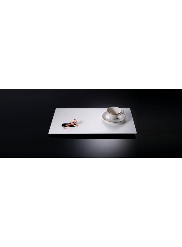 White and pink gold tray - Giorni da Leone