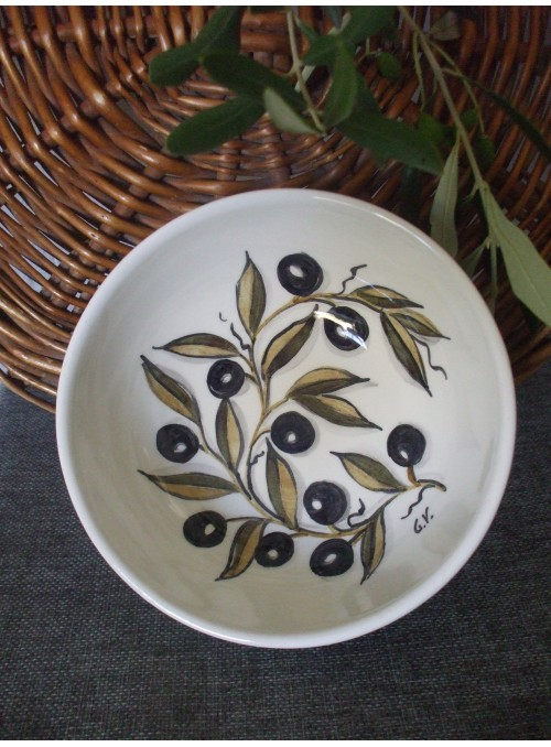 Ciotolina in ceramica - Bolo olivo